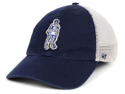 West Virginia Mountaineers '47 NCAA Stamper CLOSER Cap