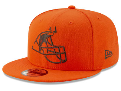 Cleveland Browns New Era NFL Logo Elements Collection 9FIFTY Snapback Cap