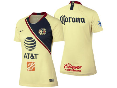 Club America Women's Club Team Primary Stadium Jersey