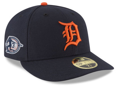 Detroit Tigers New Era MLB AC Alan Trammell Retirement Patch Low Profile 59FIFTY Cap