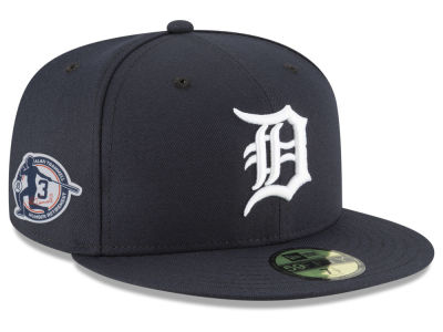 Detroit Tigers New Era MLB AC Alan Trammell Retirement Patch 59FIFTY Cap