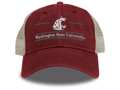 Washington State Cougars The Game NCAA Team Color Classic Mesh Cap