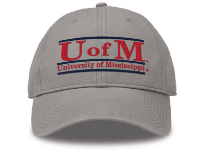 Ole Miss Rebels The Game NCAA Team Color Classic Bar Cap