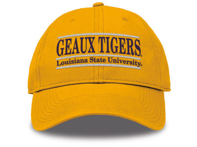 LSU Tigers The Game NCAA Team Color Classic Bar Cap