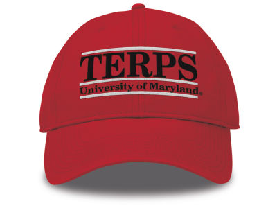 Maryland Terrapins The Game NCAA Team Color Classic Bar Cap