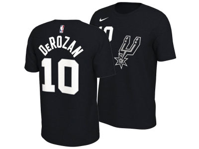 San Antonio Spurs DeMar DeRozan Nike NBA Men's City Player T-Shirt