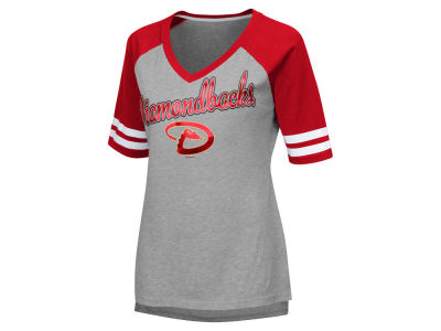 Arizona Diamondbacks G-III Sports MLB Women's Goal Line Raglan T-shirt