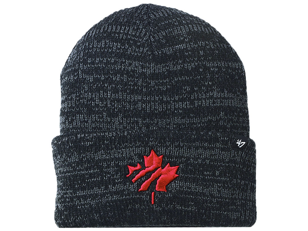 Toronto Raptors  47 NBA Brain Freeze Cuff Knit  141632bac