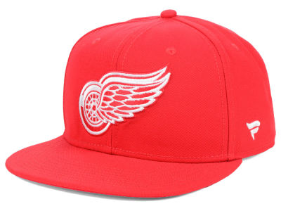Detroit Red Wings NHL Branded NHL Basic Fan Snapback Cap
