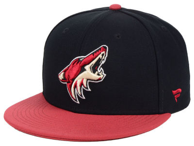 Arizona Coyotes NHL Branded NHL Basic Fan Fitted Cap