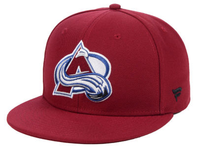 Colorado Avalanche NHL Branded NHL Basic Fan Fitted Cap