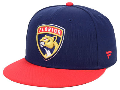 Florida Panthers NHL Branded NHL Basic Fan Fitted Cap