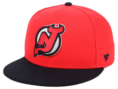 New Jersey Devils NHL Branded NHL Basic Fan Fitted Cap
