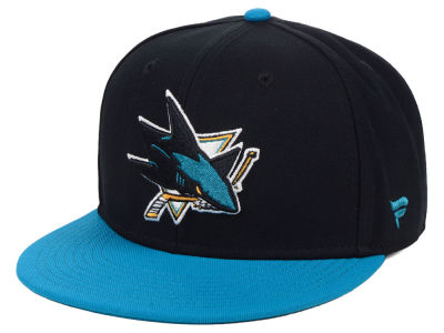 San Jose Sharks NHL Branded NHL Basic Fan Fitted Cap