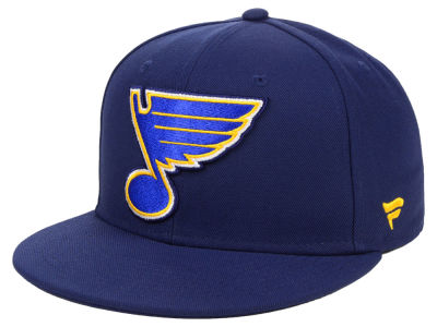 St. Louis Blues NHL Branded NHL Basic Fan Fitted Cap