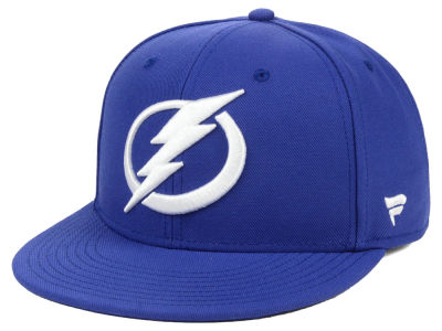 Tampa Bay Lightning NHL Branded NHL Basic Fan Fitted Cap
