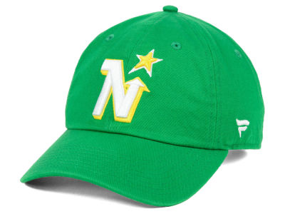 8071c74542f Minnesota North Stars NHL Branded NHL Fan Relaxed Adjustable Cap
