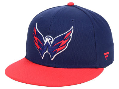 Washington Capitals NHL Branded NHL Basic Fan Fitted Cap