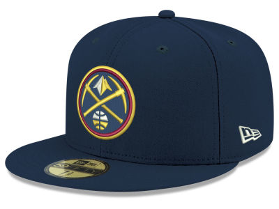 Denver Nuggets New Era 2018 NBA Basic 59FIFTY Cap