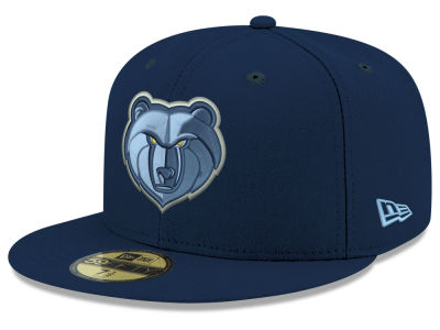 Memphis Grizzlies New Era 2018 NBA Basic 59FIFTY Cap