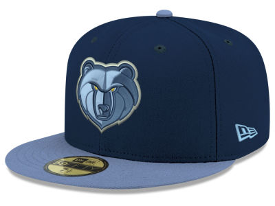 Memphis Grizzlies New Era NBA Basic 2 Tone 59FIFTY Cap