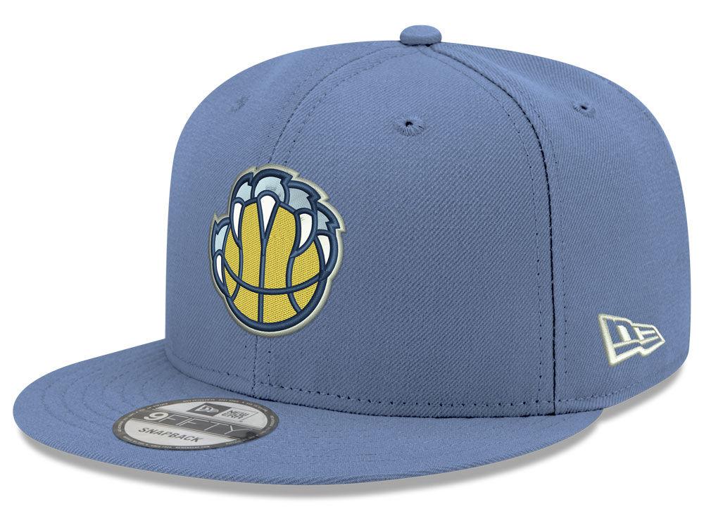 11c522fca43 Memphis Grizzlies New Era 2018 NBA Basic 9FIFTY Snapback Cap