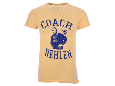 West Virginia Mountaineers Retro Brand NCAA Men's Coach Nehlen T-Shirt