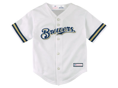 Milwaukee Brewers Majestic MLB Toddler Blank Replica Cool Base Jersey