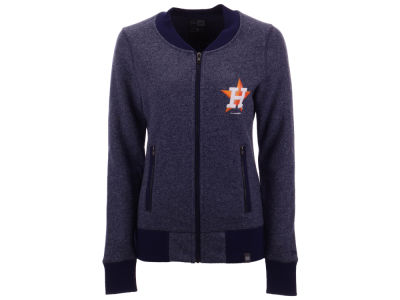 Houston Astros 5th & Ocean MLB Women's French Terry Full Zip Jacket