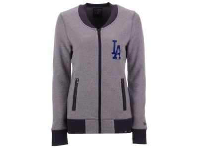 Los Angeles Dodgers 5th & Ocean MLB Women's French Terry Full Zip Jacket
