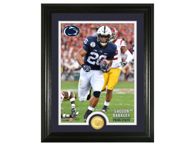 Penn State Nittany Lions Saquon Barkley Highland Mint NBA Bronze Coin Photo Mint