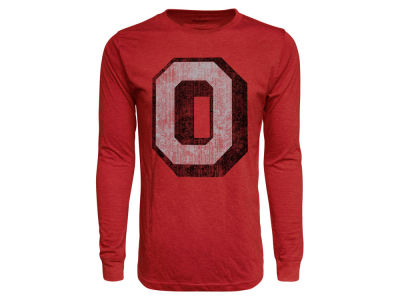 J America NCAA Men's Tri-Blend Long Sleeve T-Shirt
