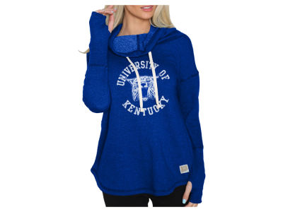 Kentucky Wildcats Retro Brand NCAA Women's Funnel Neck Sweatshirt