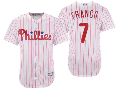 Philadelphia Phillies Maikel Franco Majestic MLB Men's Player Replica Cool Base Jersey