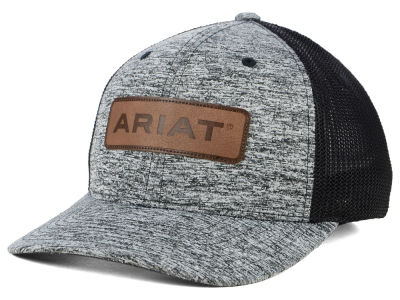 adc2a93c58c Ariat Leather Patch Flex Cap