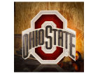 Ohio State Buckeyes NCAA 22 x 22 Logo Artwork Collectibles