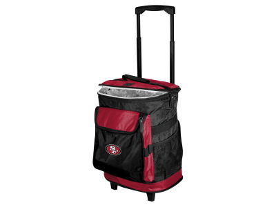 San Francisco 49ers Logo Brands Rolling Cooler V