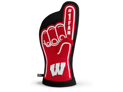 Wisconsin Badgers Sportula #1 Fan Oven Mitt