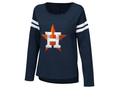 Houston Astros Touch by Alyssa Milano MLB Women's Free Agent Long Sleeve T-shirt