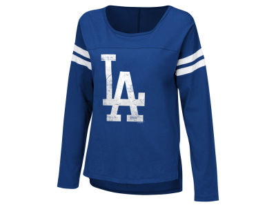 Los Angeles Dodgers Touch by Alyssa Milano MLB Women's Free Agent Long Sleeve T-shirt