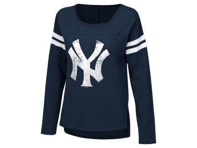 New York Yankees Touch by Alyssa Milano MLB Women's Free Agent Long Sleeve T-shirt