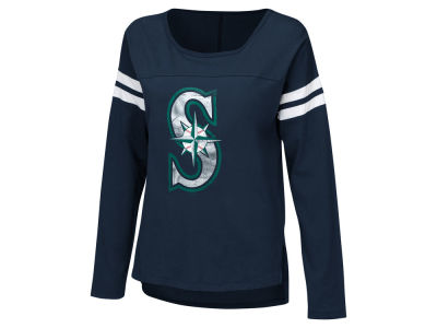 Seattle Mariners Touch by Alyssa Milano MLB Women's Free Agent Long Sleeve T-shirt