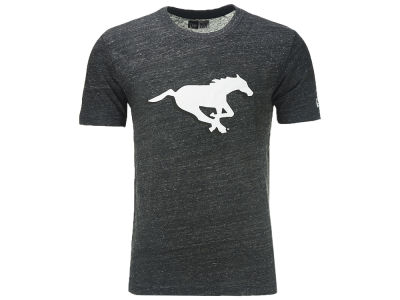 Calgary Stampeders New Era CFL Men's Heathered Tri-blend Logo T-shirt