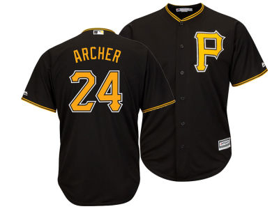 Pittsburgh Pirates Chris Archer Majestic MLB Men's Player Replica Cool Base Jersey
