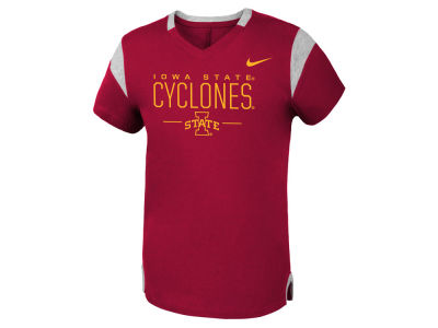 Iowa State Cyclones Nike NCAA Girls Fan V-Neck T-Shirt