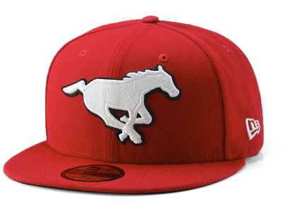 Calgary Stampeders New Era CFL Team Basic 59FIFTY Cap