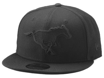 Calgary Stampeders New Era CFL Blackout 9FIFTY Snapback Cap
