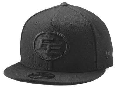 Edmonton Eskimos New Era CFL Blackout 9FIFTY Snapback Cap