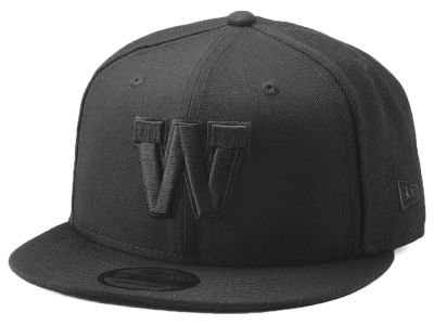Winnipeg Blue Bombers New Era CFL Blackout 9FIFTY Snapback Cap