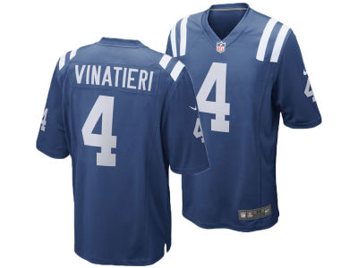 Indianapolis Colts Adam Vinatieri Nike NFL Men's Game Jersey